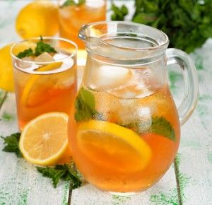 homemade ice tea